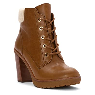 Womens Kim Lace Up Bootie